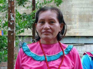Hilda Amasifuen, lideresa shipiba.